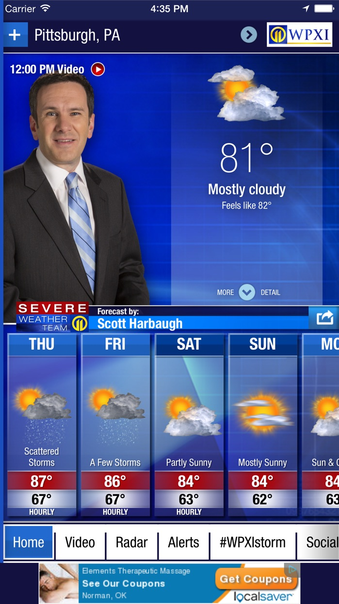WPXI Severe Weather Team 11 Screenshot