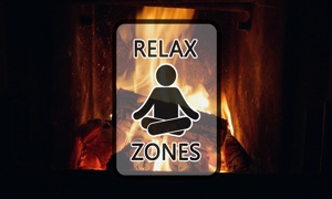 Relaxing Fireplace by Relax Zones