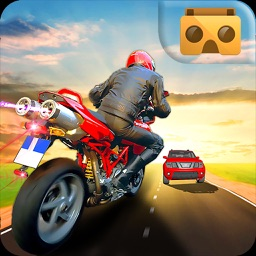 VR Racing Moto Traffic Rider
