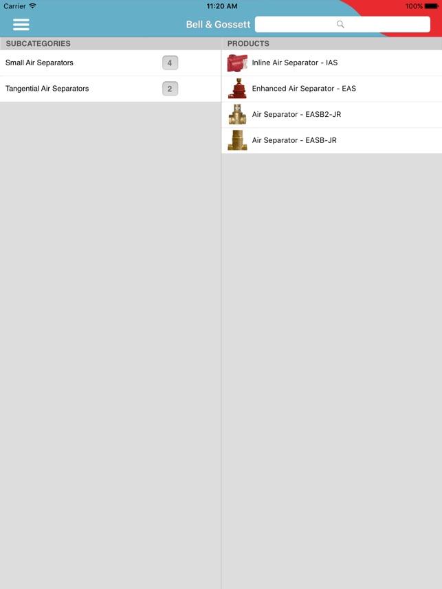Bell & Gossett Mobile Catalog on the App Store