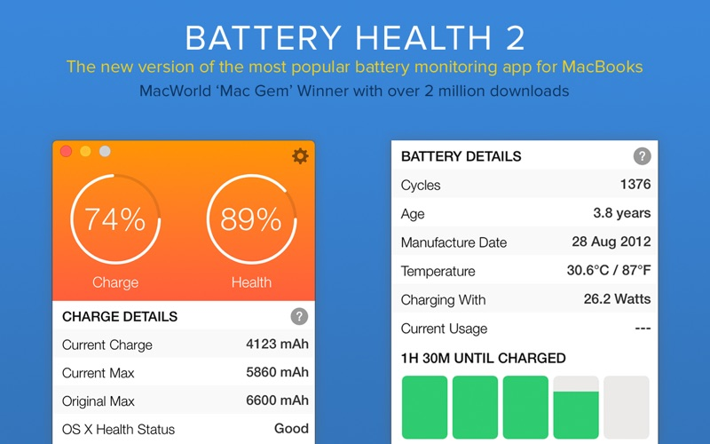 Battery Health 2 Screenshot