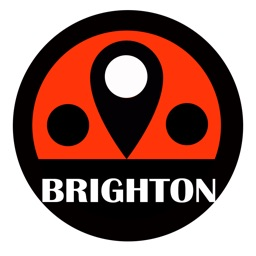 Brighton travel guide with offline map and London tube metro transit by BeetleTrip Apple Watch App