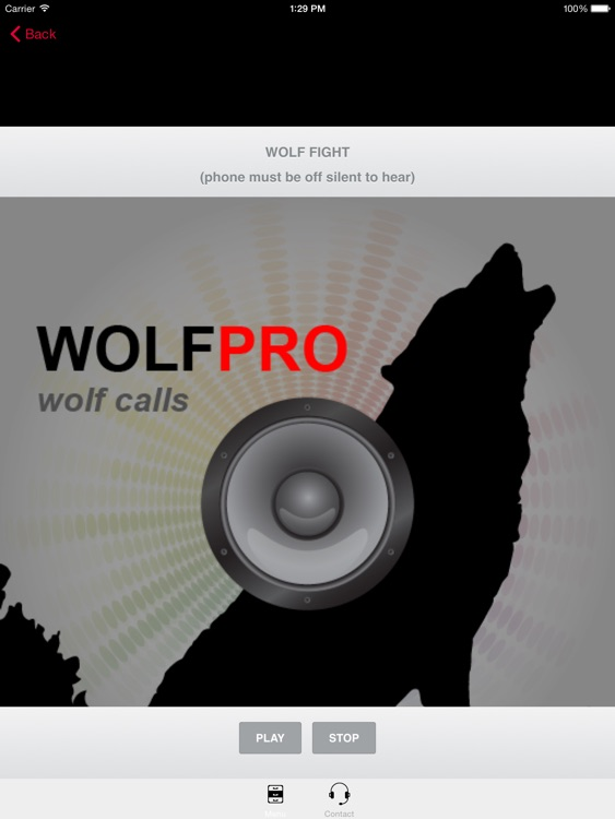 REAL Wolf Calls and Wolf Sounds for Wolf Hunting -- BLUETOOTH COMPATIBLE screenshot-0
