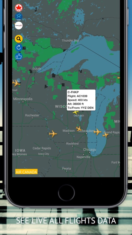Air CA : Flight Radar & Status