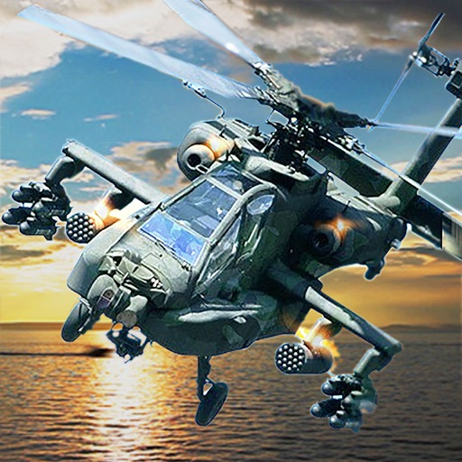 Gunship Helicopter Strike : Gunner Battle 3D