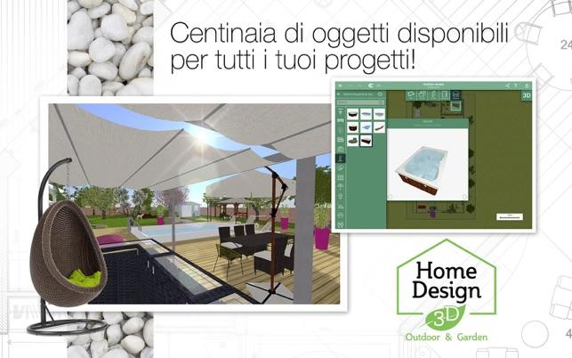 Home design 3d outdoor garden sul mac app store for Home design 3d outdoor garden mac