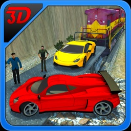 Car Transporter Train 3D – Super Fast Vehicle Freight Transportation