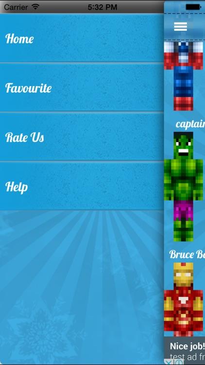 Superhero Skins for Minecraft PE Free screenshot-4