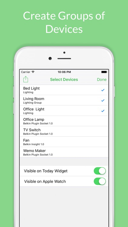 WSwitch for Belkin WeMo screenshot-2