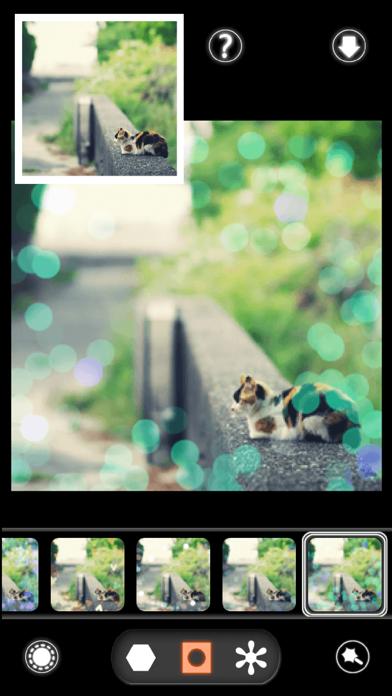 BokehPic-かわいいフィルターが満載の写真加工カメラアプリ!無料で写メをぼかして画像編集!のおすすめ画像1