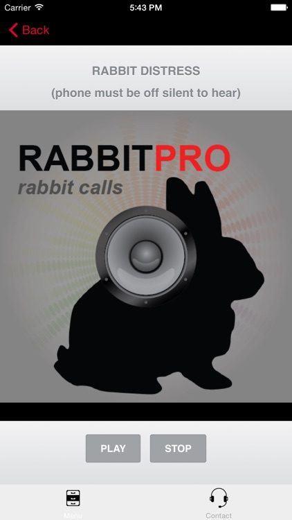REAL Rabbit Calls & Rabbit Sounds for Hunting Calls - BLUETOOTH COMPATIBLE screenshot-3