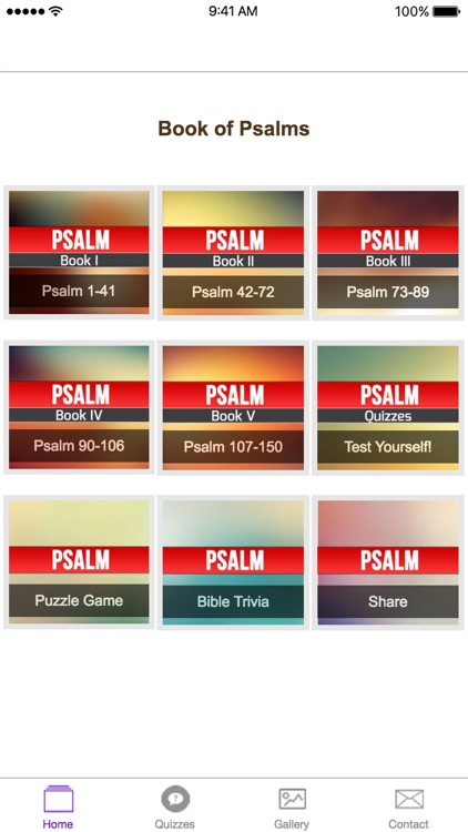 The Book of Psalms - Verses, Trivia, Wallpaper, and Inspiration from the Old Testament of the Holy Bible screenshot-1