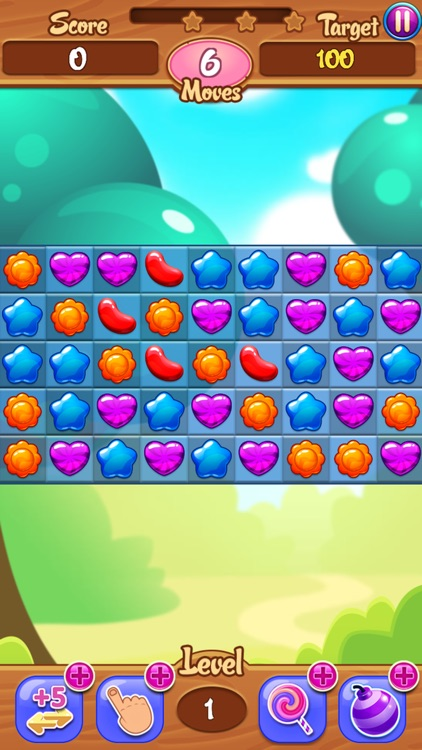 Sweet Jelly - Candy Match 3 Puzzle Game