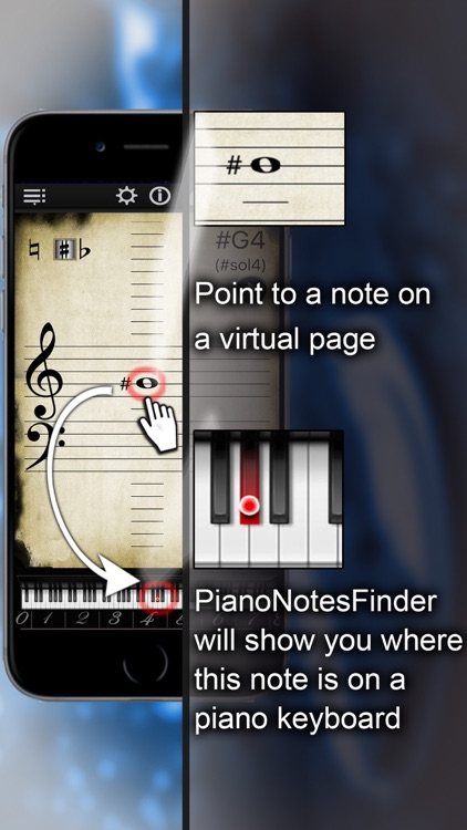 Piano Notes Finder screenshot-0