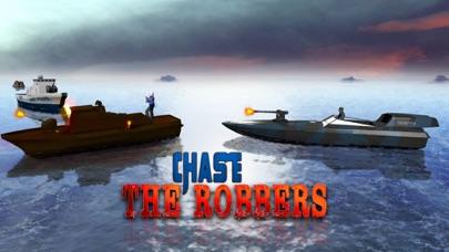 海軍警察ボートの攻撃 - レアル陸軍船舶セーリングとチェイスシミュレータゲームのおすすめ画像2