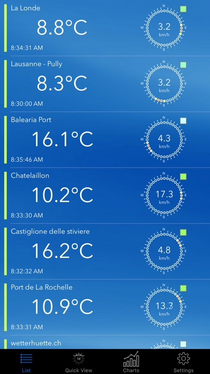 Weather Switch For WXT520, Davis Vantage Pro and Davis Vantage Vue weather stations screenshot-3
