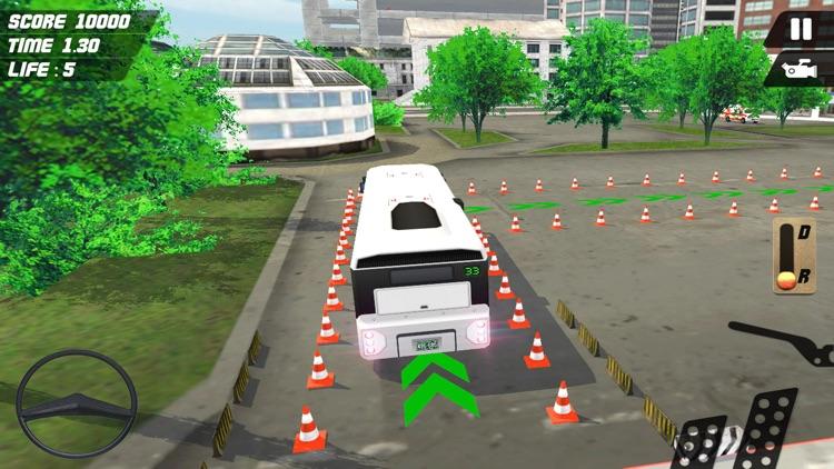 Multi-Storey Coach Bus Parking 3D: City Auto-bus Driving Simulator screenshot-4