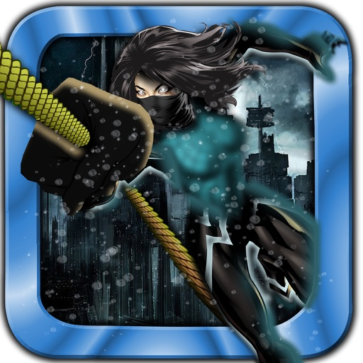 Rope Swing Girl Hero - Fly and Jump in the City