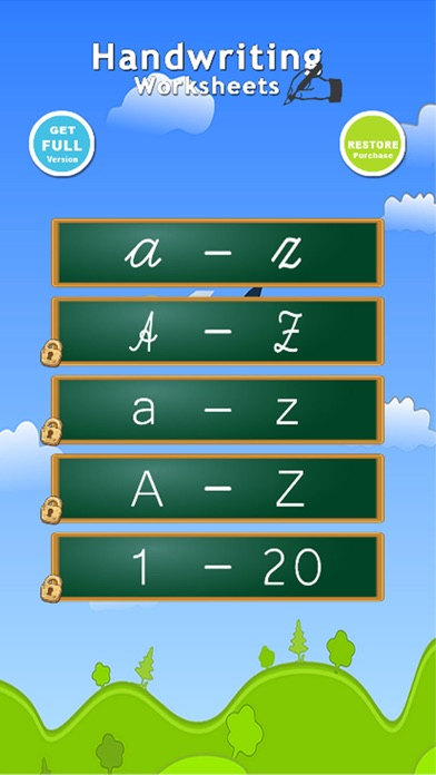 Handwriting Worksheets ABC 123 Educational Games For Children : Learn To Write The Letters Of The Alphabet In Script And Cursive free Resources hack