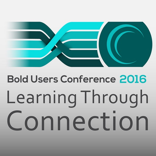 2016 Bold Users Conference