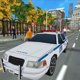 Police Car Parking Adventure