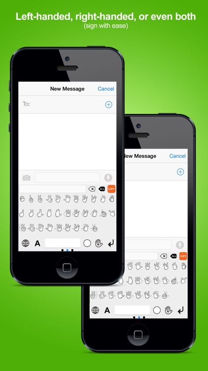 Signily Keyboard - Sign Language Emoji and GIFs! screenshot-2