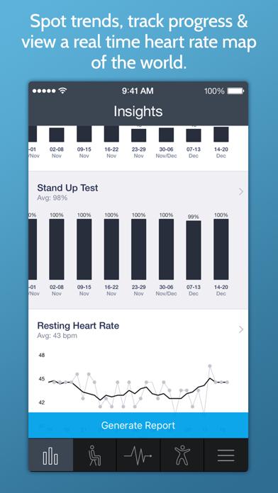 Screenshot for Στιγμιαία καρδιακή συχνότητα+ in Greece App Store