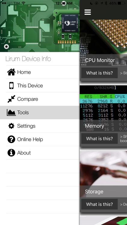 Lirum Device Info