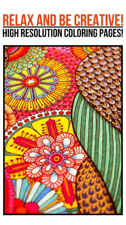 Colorfit - Adult Coloring Book - Secret Garden screenshot-4