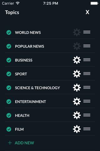 World News - náhled