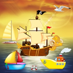Boat Puzzles for Toddlers and Kids : puzzle games on the sea with boats and ships !