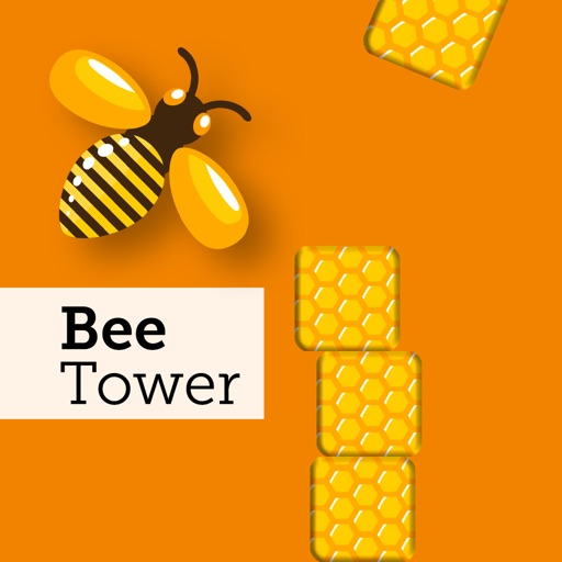 A funny Bee Tower Game