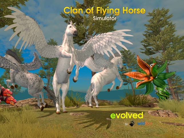 Clan of Pegasus - Flying Horse on the App Store