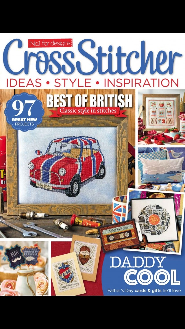 download CrossStitcher Magazine | stitching and colourful designs in home furnishings apps 3