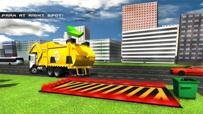 camión de la basura real de vuelo simulador 3D - La conducción de camiones de basura en laCaptura de pantalla de5
