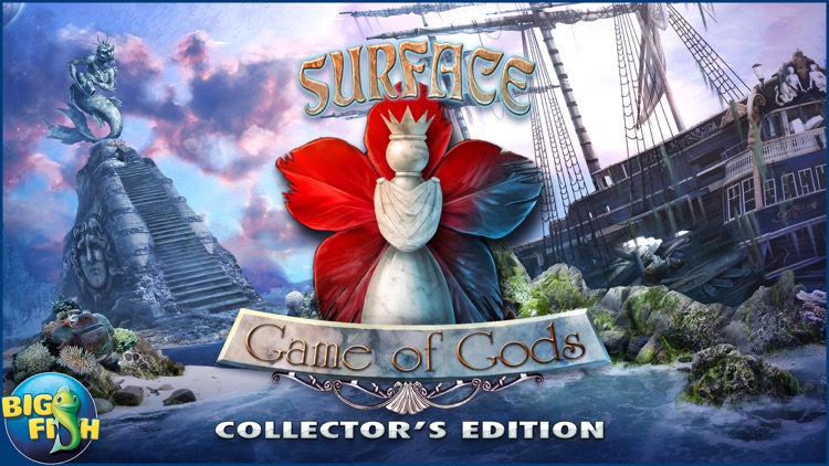 Surface: Game of Gods - A Mystery Hidden Object Adventure screenshot-3