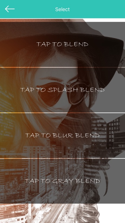 Photo and Video Blender: Superimpose with double exposure blend effects and save to Facebook, Instagram and more!