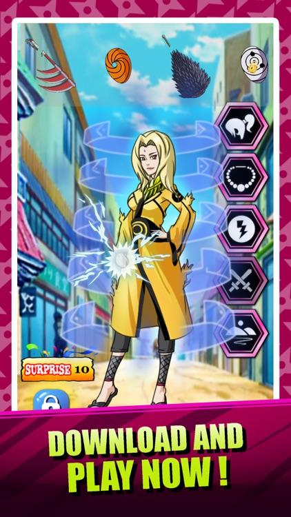 Create Your Own Ninja Girl - Dress Up Game Naruto Shippuden Edition screenshot-3