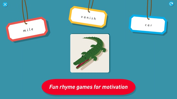 Montessori Early Reading - Phonics & Rhyme games screenshot-1