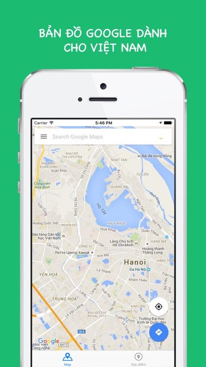 Bản đồ for Google Maps - Bản đồ Việt Nam mới nhất, cập nhật liên tục