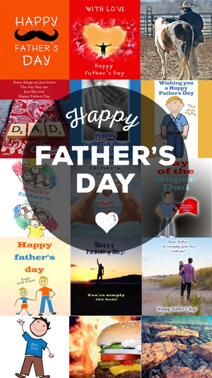 Father's Day Greeting Cards - Picture Quotes & Saying Images screenshot-0
