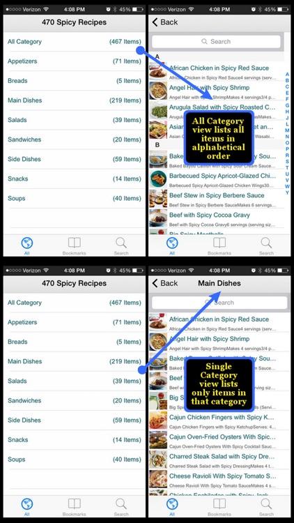 470 Spicy Recipes screenshot-3