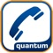 Quantum MobileLink is a simple non-VoIP client that enables end-users to make and receive calls over their existing cellular service using their business identity
