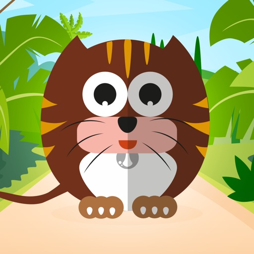 Funny Animals : Free Matching Games for children, boys and girls