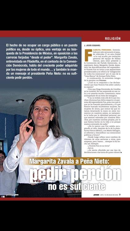 Revista Proceso screenshot-4