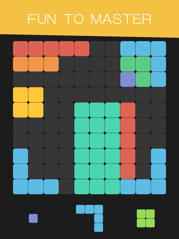 1010 Block Fit For Tetris! для iPad