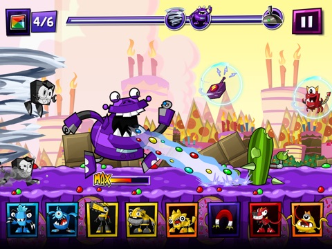 Mixels Rush tablet App screenshot 2