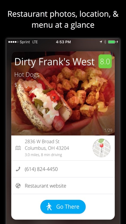 Just Eat Now - A Personalized Local Food Recommendation Engine
