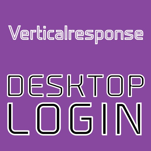 DESKTOP LOGIN for Verticalresponse (CONTACTS ONLY)