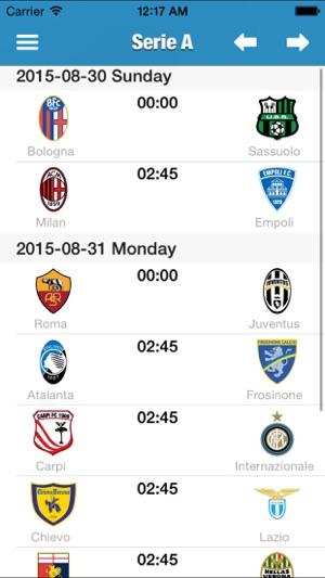 italienische liga serie a